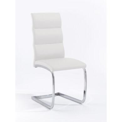 Bow szánkótalpú szék, fehér