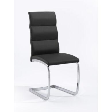Bow szánkótalpú szék, fekete