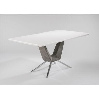 Fly magasfényű asztal fix, 160