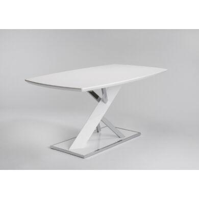 Gonzo magasfényű asztal fix, 160