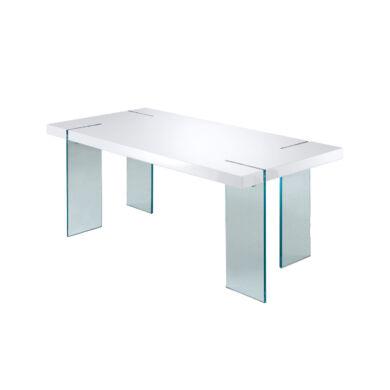 Nova üveglábas asztal, 190 cm