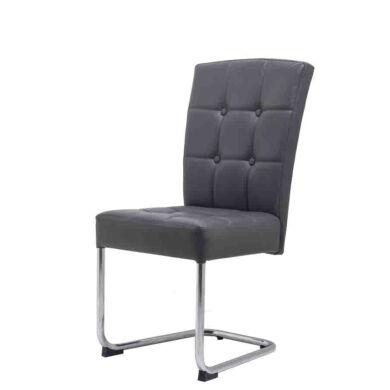Olaf szánkótalpú szék, szürke