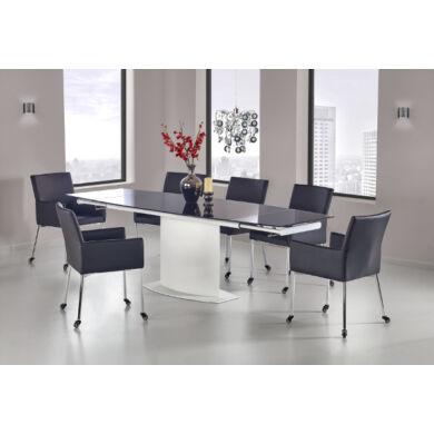 Anderson asztal, 160/250 cm, fekete
