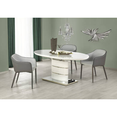 Aspen 140/180 asztal, fehér
