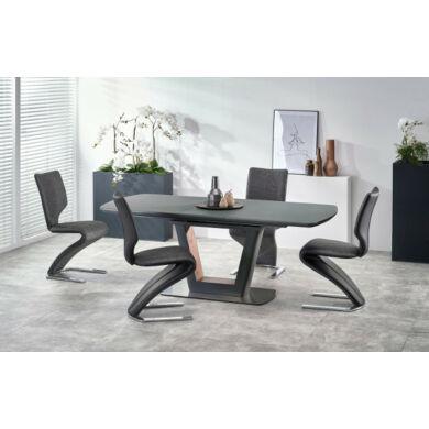 Bilotti asztal 160/200 cm, sötétszürke