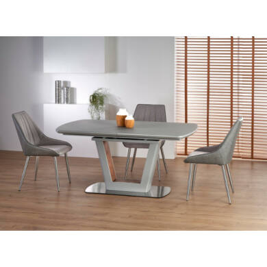 Bilotti asztal 160/200 cm, világos szürke