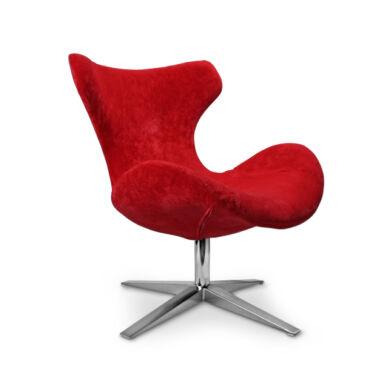 Blazer fotel, piros