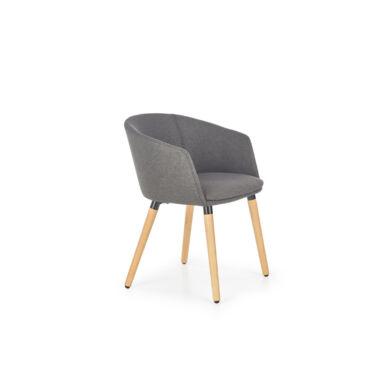 K 266 karfás szék, sötét szürke