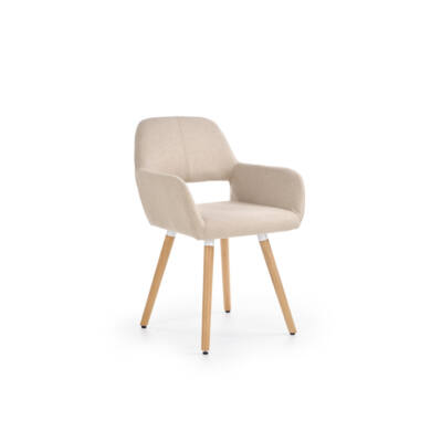 K 283 karfás szék, beige