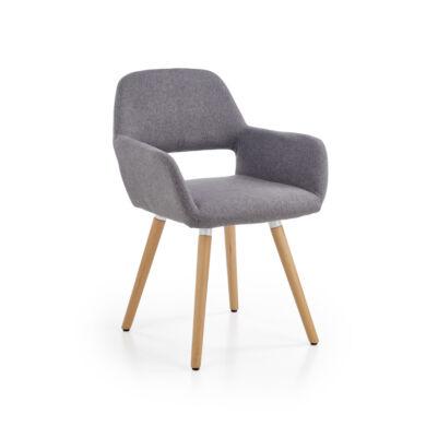 K 283 karfás szék, szürke