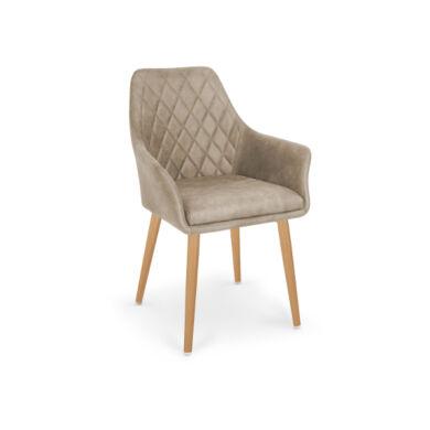 K 287 karfás szék, beige