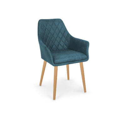 K 287 karfás szék, sötétkék