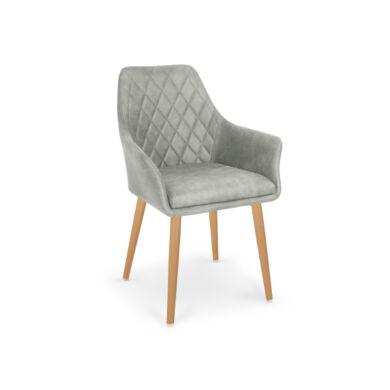 K 287 karfás szék, szürke