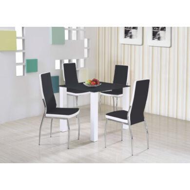 Merlot asztal, négyzetes, fekete