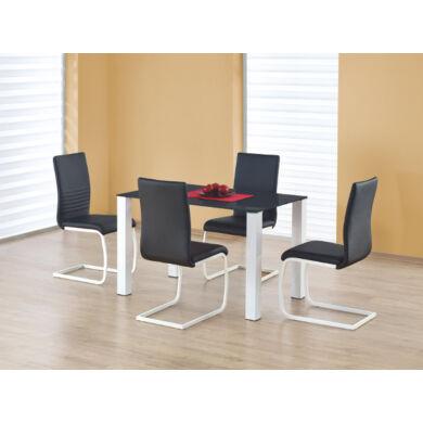 Merlot asztal, téglalap, fekete