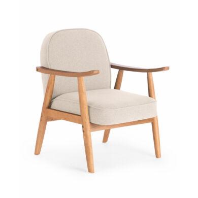 Retro fotel, beige