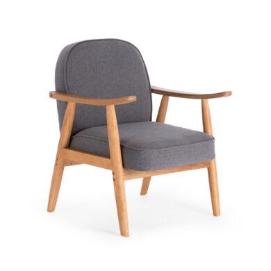 Retro fotel, szürke