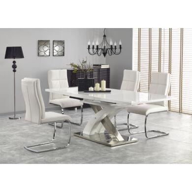 Sandor 2 asztal, 160/220 cm, fehér