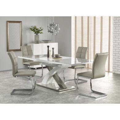 Sandor 2 asztal, 160/220 cm, szürke