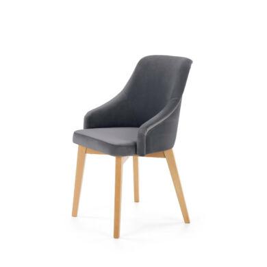 Toledo 2 szék, sötétszürke