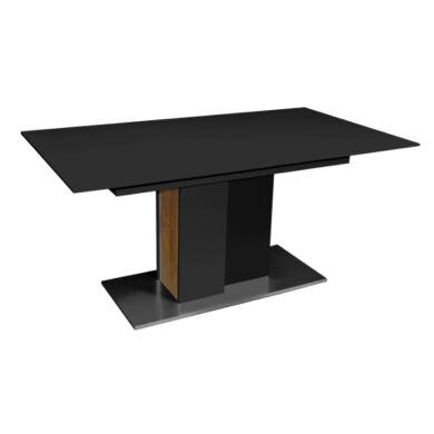 Arizona 160/240 nagyobbítható asztal, antracit/vadtölgy