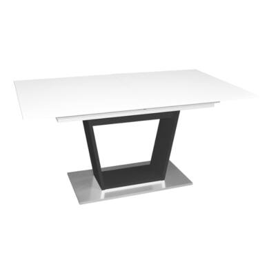 Micelli asztal 160/240, fehér/antracit