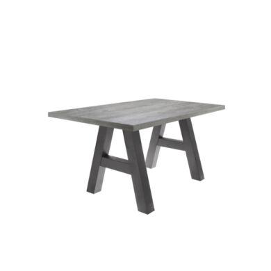 Mister A/160 fix asztal, grafit/homoktölgy