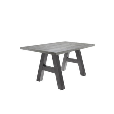 Mister A/140 fix asztal, grafit/beton