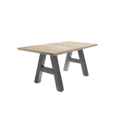 Mister A 160/210 asztal, grafit/sonoma