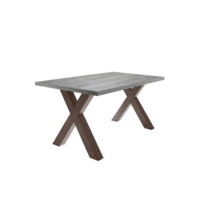 Mister X/180 fix asztal, rost/beton