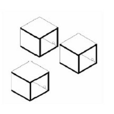 Mix Box HR 3-as box-szet,  fehér vagy antracit