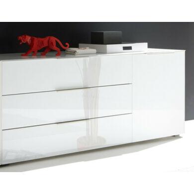 Mix Box LB-13/177 tálaló, üvegfrontos, fehér vagy antracit