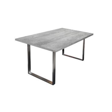 Steel fémlábas asztal, 140x90, fix, több szín