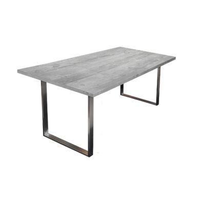 Steel fémlábas asztal, 180x90, fix, több szín