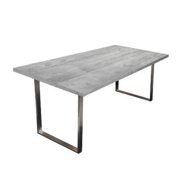 Steel fémlábas asztal, 200x100, fix, több szín