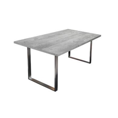 Steel fémlábas asztal, 160x90, fix, több szín