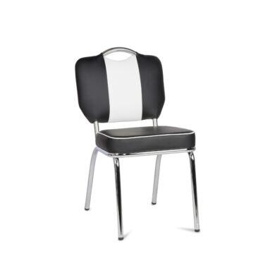 Elvis 5 szék, fekete