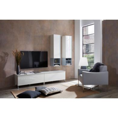 Larino üvegfrontos nappali bútor összeállítás