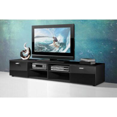 3666-os  TV szekrény, fekete
