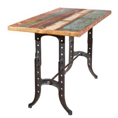 Amarelo állítható magasságú asztal