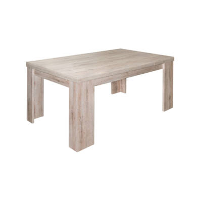 Big Zip nagyobbítható  asztal, világos sanremo tölgy, több méret