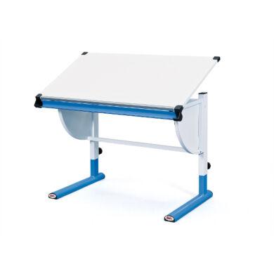 Cetrix dönthető lapos íróasztal, kék