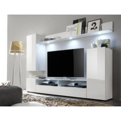 dos nappali bútor, fehér színű