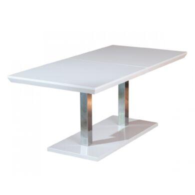 Edmonton 160/200 magasfényű asztal, nagyobbítható