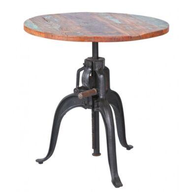 Fundos állítható magasságú kerek asztal
