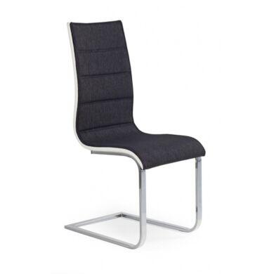 K 105 szék, grafit/fehér