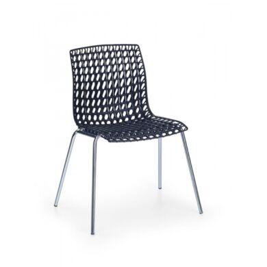 K 160 szék, fekete