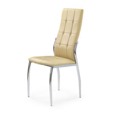 K 209 szék, sötét beige