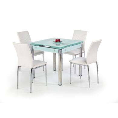 Kent 80x80/130 nagyobbítható asztal, fehér