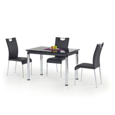 L31-es 110/170 nagyobbítható asztal, fekete